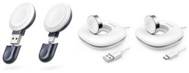 Anker Apple Watch用磁気充電器6/3に4モデル同時発売
